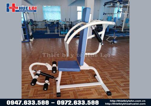 Thiết bị tập cơ chi trên dạng ghế ngồi