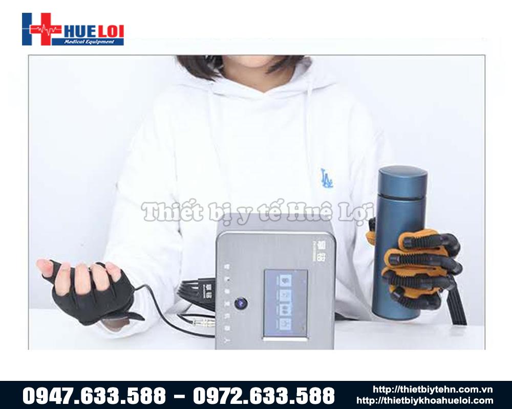 máy tập phục hồi chức năng bàn tay tự động