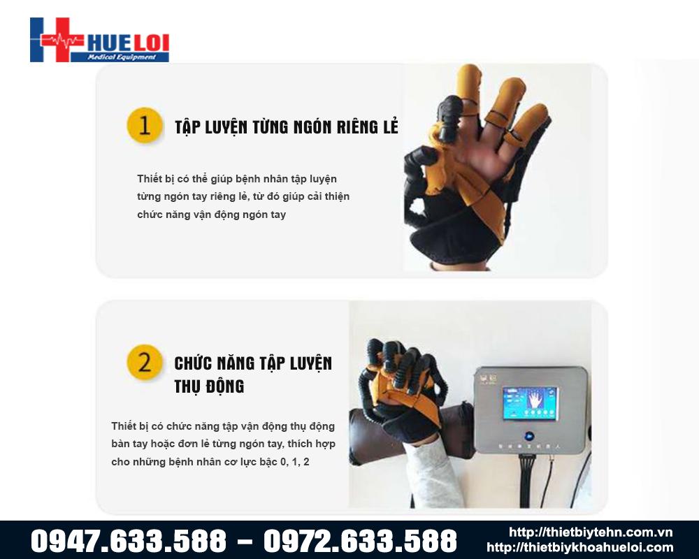 tác dụng của găng tay tập phục hồi chức năng